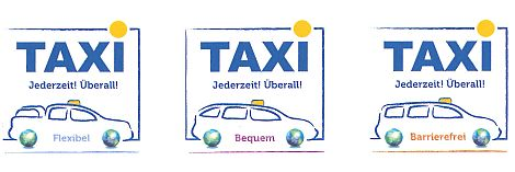Logosammlung Taxi