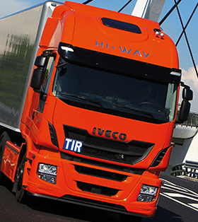 LKW mit Carnet TIR